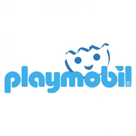 the Playmobil logo