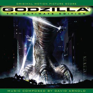 Godzilla - The Ultimate Edition Soundtrack (3xCD) [album cover artwork]