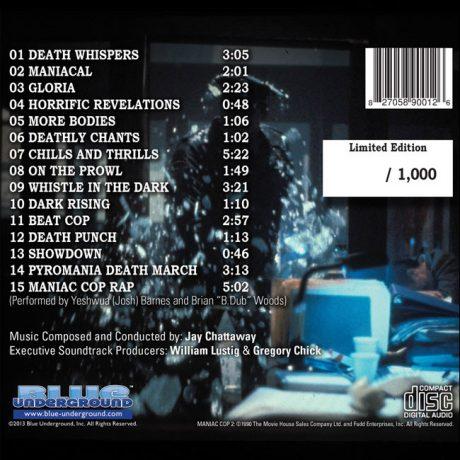 Maniac Cop 2 Soundtrack (CD)