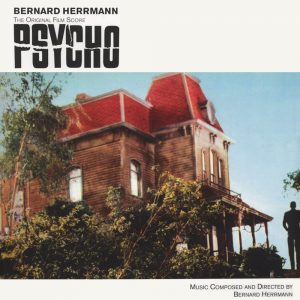 Psycho: The Original Film Score [180 Gram Coloured (Red) Vinyl] (album cover artwork)