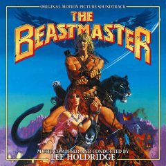 The Beastmaster Soundtrack (2xCD) [album cover artwork]
