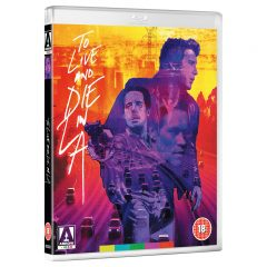 To Live and Die in L.A. (Dual-format) [Blu-ray] [DVD] (cover artwork))