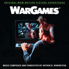 WarGames Soundtrack (2xCD) QR352 (album cover artwork)
