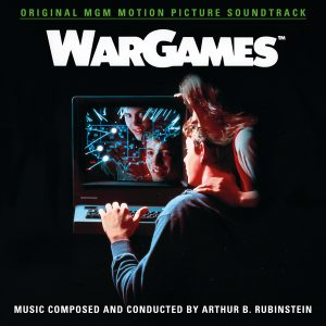 WarGames Soundtrack (2xCD) QR352 (album cover artwork)