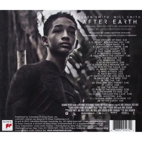 After Earth Soundtrack (CD)