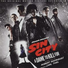 Frank Miller's Sin City - A Dame to Kill For Soundtrack (CD) [album cover artwork]