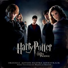 Harry Potter and the Order of the Phoenix Soundtrack (CD) [cover artwork]