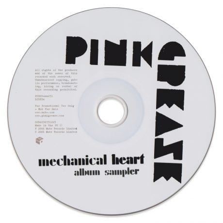 Pink Grease – Mechanical Heart Album Sampler (CD) [Promo!]