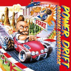 Power Drift Original Soundtrack (CD) [album cover artwork]