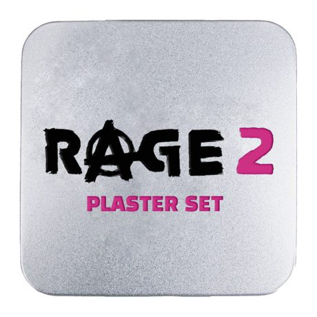Rage 2: Set of 6x Plasters (Band-Aids)