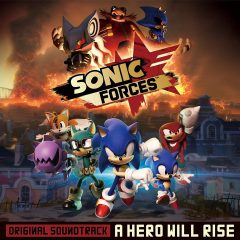 Sonic Forces Original Soundtrack - A Hero Will Rise [album cover artwork]