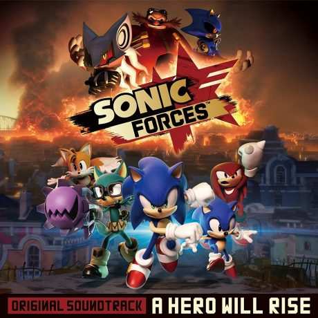Sonic Forces Original Soundtrack – A Hero Will Rise [3xCD]