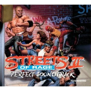Streets of Rage II Perfect Soundtrack (CD) 3516628322129 [album cover artwork]