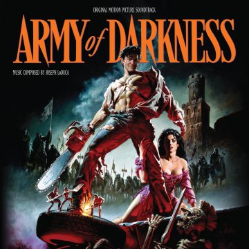 Army of Darkness Soundtrack (CD) [album cover artwork]