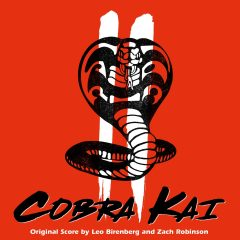 Cobra Kai Season II (2): Original Score (Soundtrack) CD [cover artwork]