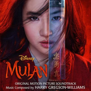 Disney Mulan Original Motion Picture Soundtrack (CD) [album cover artwork]