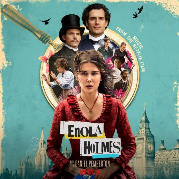 Enola Holmes (Music From The Netflix Film) Soundtrack [CD] (cover artwork)