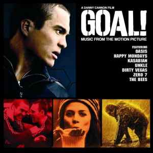 Goal! (Music from the Motion Picture) Soundtrack CD [album cover artwork]