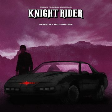 Knight Rider Original Television Soundtrack (2xCD) [album cover art]