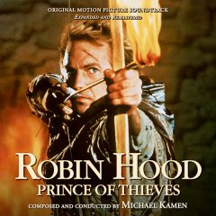 Robin Hood: Prince of Thieves - Expanded and Remastered Soundtrack [4xCD] (album cover artwork)