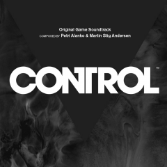 Control - Original Game Soundtrack (CD) [album cover artwork]