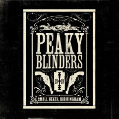 Peaky Blinders Soundtrack (CD) [2xCD] (album cover artwork)