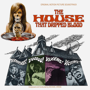 The House That Dripped Blood Soundtrack (CD) [album cover]