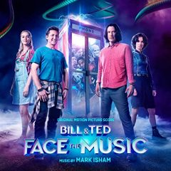 Bill & Ted Face the Music (Original Motion Picture Score) [album cover artwork]