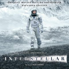 Interstellar Original Motion Picture Soundtrack (2CD) Expanded Edition (album cover artwork)