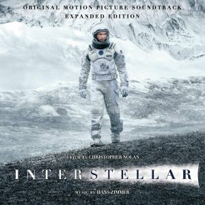 Interstellar Original Motion Picture Soundtrack (2CD) Expanded Edition (album cover artwork)