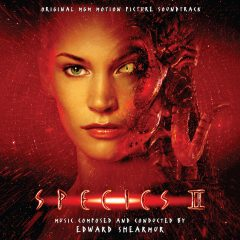 Species II: Expanded Soundtrack (CD) [album cover artwork]