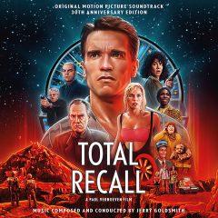 Total Recall: 30th Anniversary Edition Soundtrack (2-CD) [album cover artwork]
