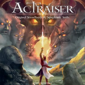 ActRaiser Original Soundtrack & Symphonic Suite (2xCD) [album cover artwork]