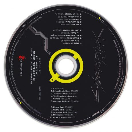Cyberpunk 2077 Soundtrack Score CD (Disc 1 of 2)
