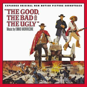The Good, The Bad and The Ugly Soundtrack (3xCD) [album cover artwork]