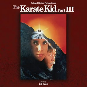 The Karate Kid Part III Soundtrack Score (CD) [album cover artwork]