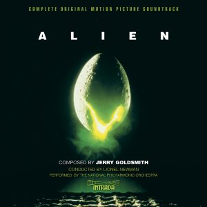 Alien Complete Original Motion Picture Soundtrack (2xCD) [album cover artwork]
