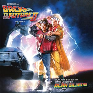 Back to the Future Part II (Original Motion Picture Soundtrack) [2xCD] (album cover artwork)