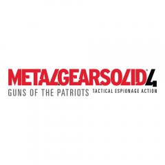 Metal Gear Solid 4 - Guns of the Patriots (logo)