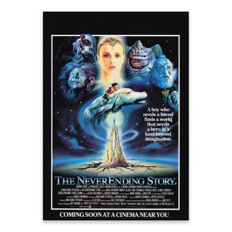 The NeverEnding Story (original UK cinema A4 flyer)