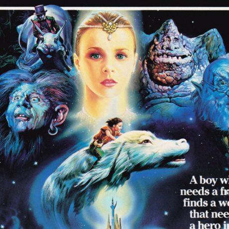 The NeverEnding Story (original UK cinema A4 flyer) [detail]