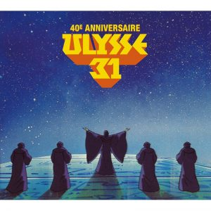 Ulysses 31: 40th Anniversary Soundtrack RADX-01 [2xCD] [album cover artwork]