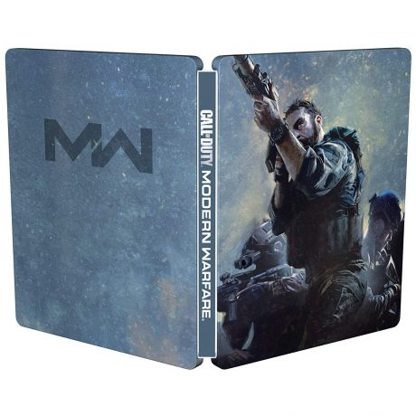 Call of Duty: Modern Warfare SteelBook Case (cover artwork, front and back)