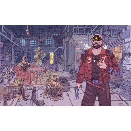 Cyberpunk 2077 SteelBook Case – Maelstrom artwork