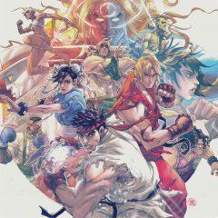 Street Fighter III: The Collection (Capcom Sound Team) [4xLP] [album cover artwork]