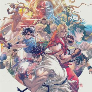 Street Fighter III: The Collection (Capcom Sound Team) [4xLP] [album cover artwork]