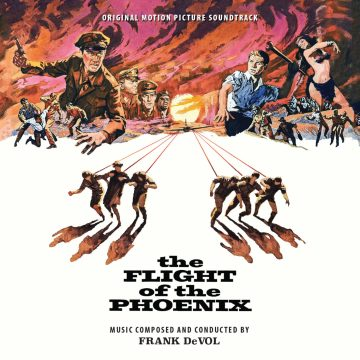The Flight of the Phoenix Soundtrack (2xCD) [album cover artwork]