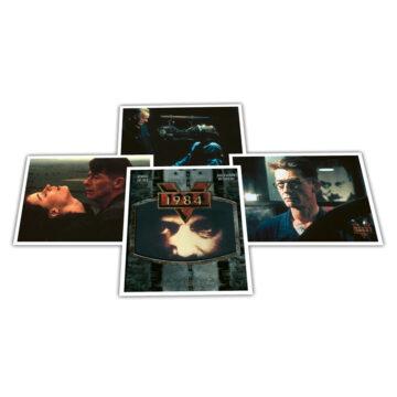 1984 promotional postcards (x4)
