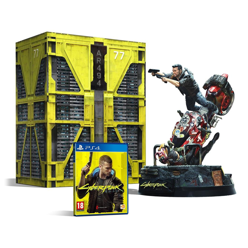 Cyberpunk 2077 Collector's Edition [PS4] [presentation]