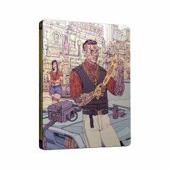 Cyberpunk 2077 SteelBook Valentinos Gang (front cover)